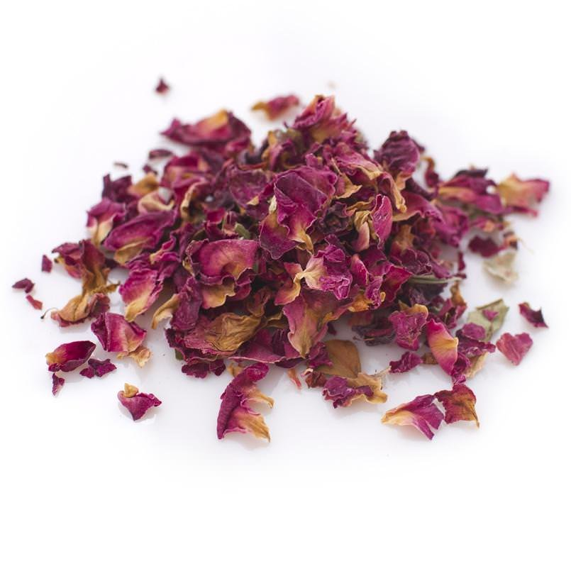 Organic Rose Buds and Rose Petals Herbal Tea
