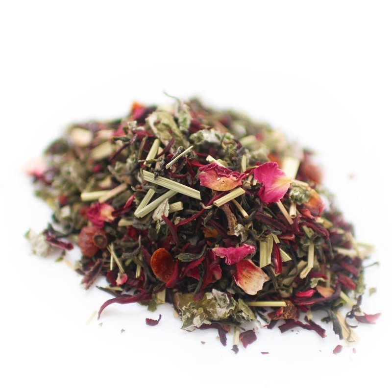 Raspberry Limeade Green Tea
